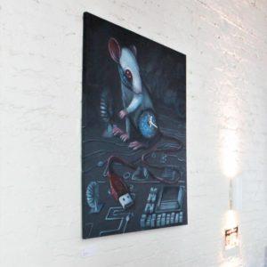 """Näitus """"Ajataju"""" Tallinn, Kohvik Fe, 2019."""