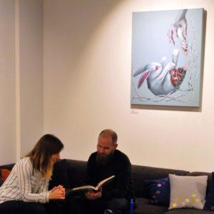 """Näitus """"Ajataju"""" Tallinn, Intera, 2018"""